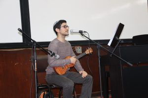 Nir Emuna on the ukulele