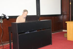 Prof. Dani Givoli on the piano