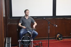 Omer Cohen - Drums, Piano & Vocals (here on the drums)