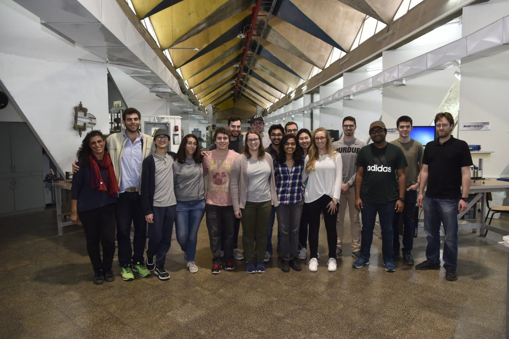 Asst. Prof. Beni Cukurel and the students of the Joint Technion - Purdue Course on Aero-Thermal Measurement Techniques