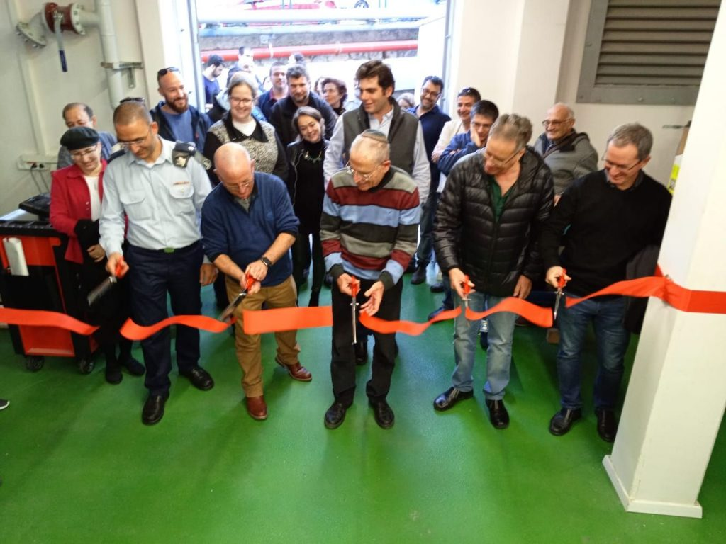 Official Ribbon Cutting at the Opening of the Turbomachinery & Heat Transfer Laboratory
